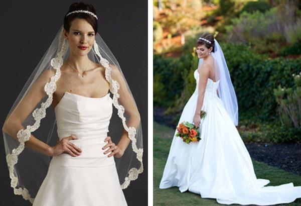 какую фату выбрать на свадьбу