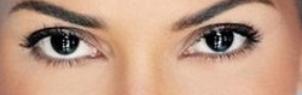 темно-карие глаза фото