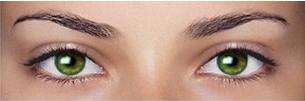зеленые глаза фото