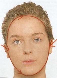 Как определить форму лица: овальное лицо