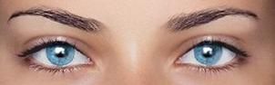 голубые глаза фото