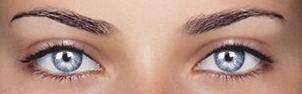 серые глаза фото
