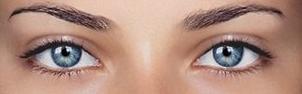 серо-голубые глаза фото