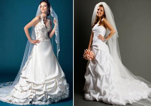 идеальная свадебная фата